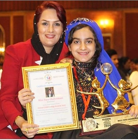 Tara Ghahremani maestro is also recognized with the Global Child Prodigy Award in January 2020