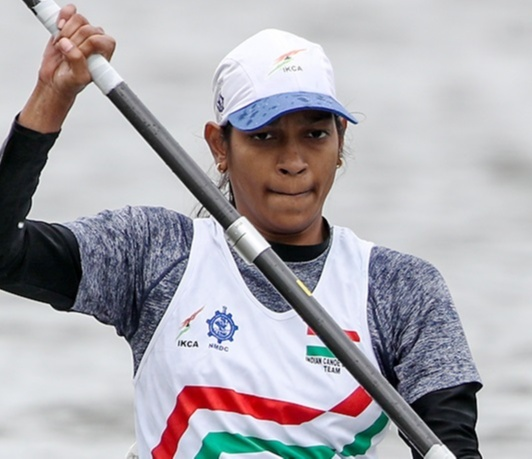Prachi Yadav secured her berth for the Tokyo Paralympics in Para Canoeing