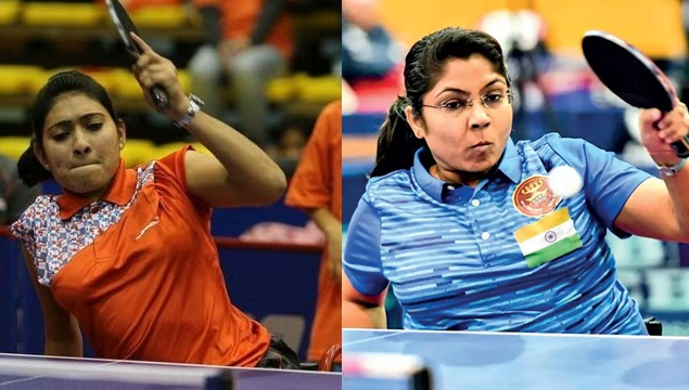 Two women will be representing India in Table Tennis at the Tokyo Paralympics - Sonalben Patel and Bhavina Patel