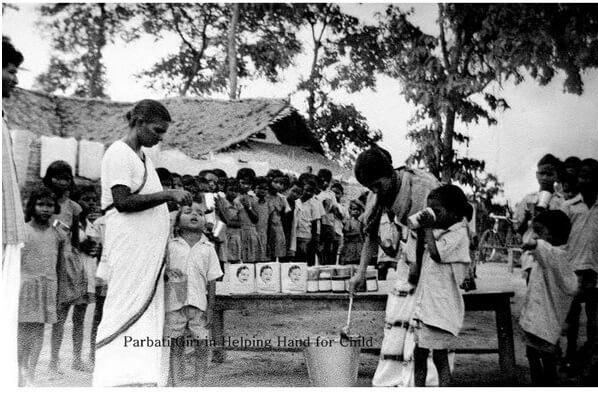Parbati Giri founded Rukmini Lath Balniketan at Paikmal village, Bargaon for orphans and children