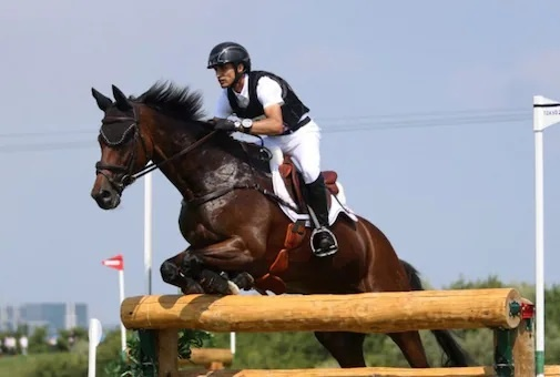 First indian equestrian at the tokyo olympics did india proud