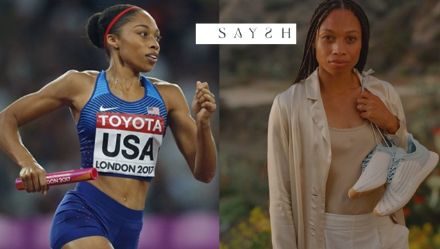 Shuns NIKE to create her own Shoe Brand SAYSH. NIKE now becomes sensitive to pregnancy issues