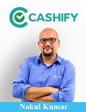 Cashify Co- Founder Nakul Kumar