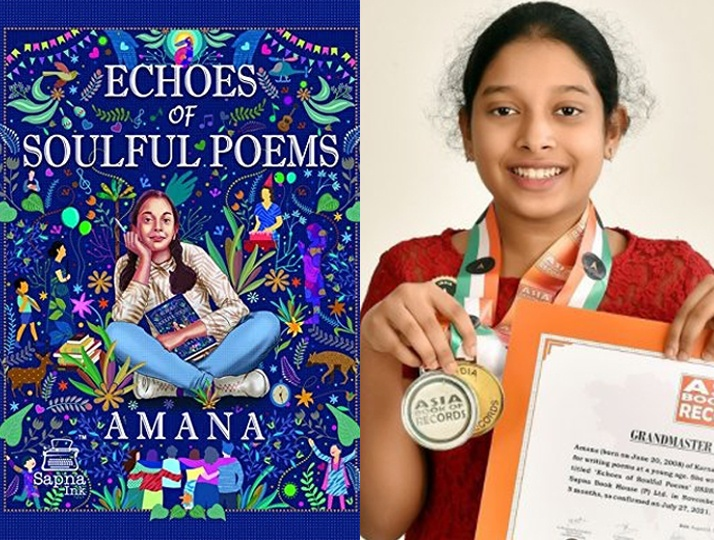 Boredom gave birth to the youngest poetess. Never utter the word Bored says this pre-teen