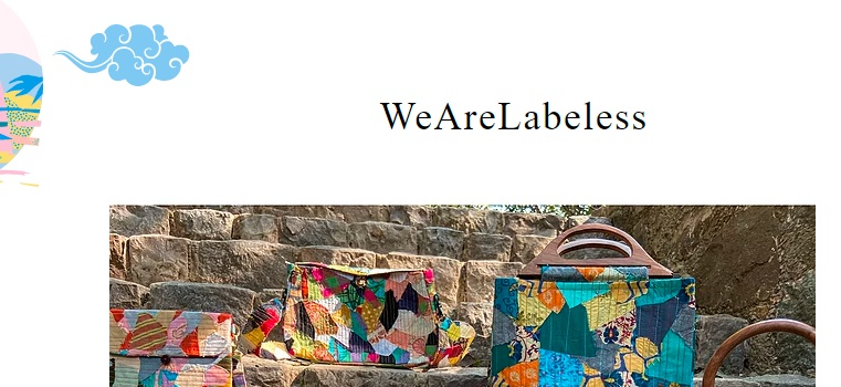 Mehak started a brand called 'WeAreLabeless', a brand that feels responsible and conscious about the environment while developing fashion