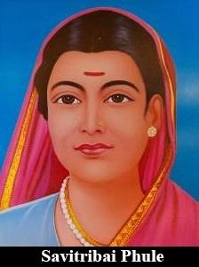Savitribai Phule as the first woman teacher.jpg