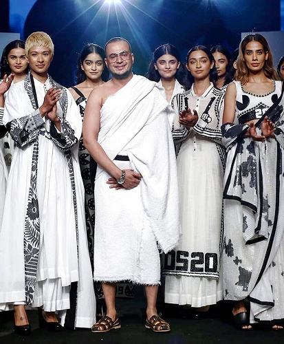 Mohammad Mazhar was chosen to present his collection at the 2018 Lakme Fashion Week as a part of the GenNext programme