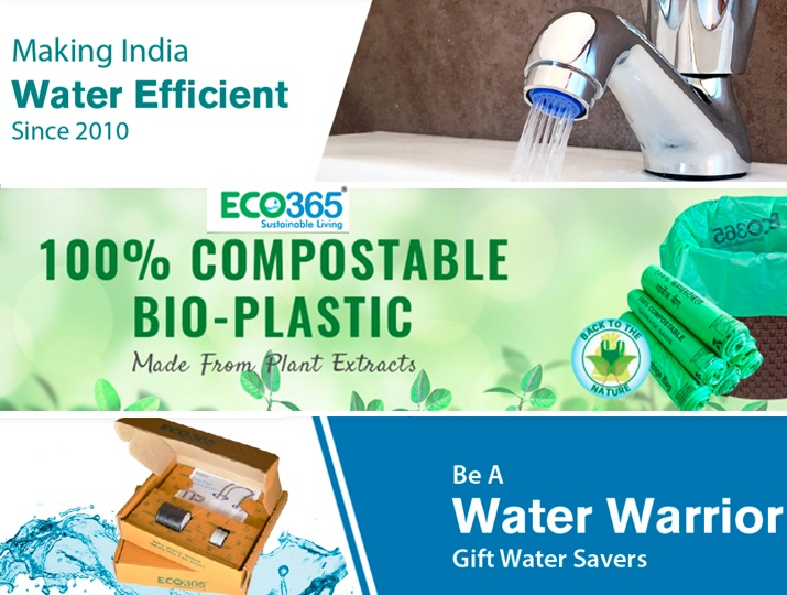 Save Water -Eco365 amplifying Go Green habits and has conserved 100 crore gallons of water so far