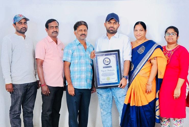 Yethindra vityala With family