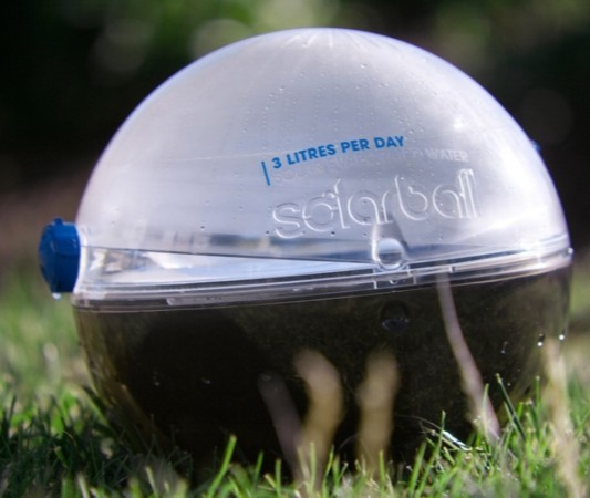 Harnessing The Sun's Energy To Gift Clean Water - Solarball