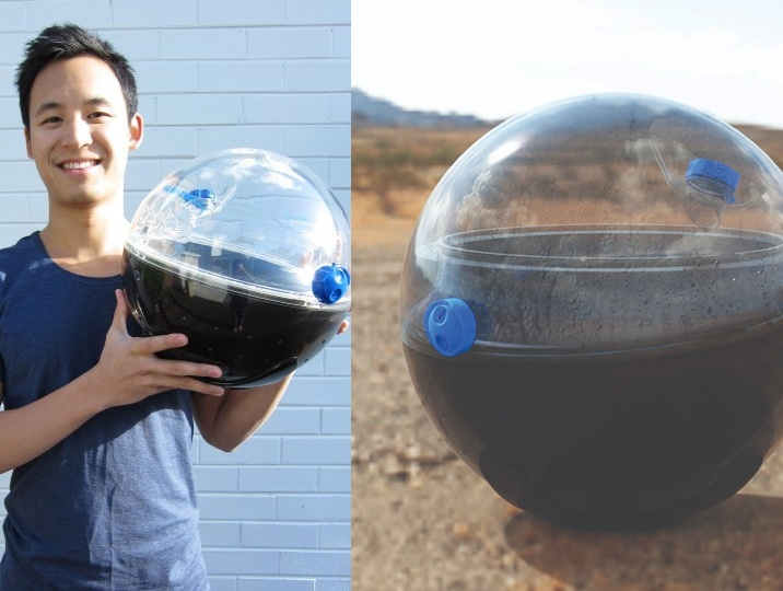 Oz student innovates Solarball to give clean water