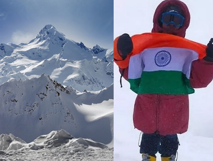 Mount Elbrus scaled by 8 yo Indian. What drives these young kids into being daringly adventurous