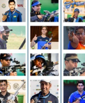 15 indian shooters who qualified for the olympics