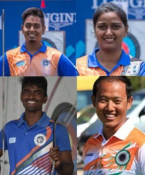 four indian archers who made it to the olympics