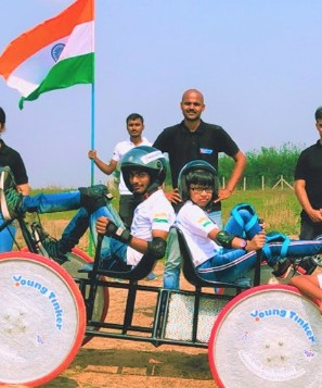 nasa competition - 10 students from across india