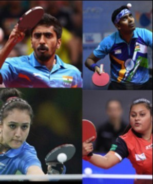 table tennis players who made it to tokyo olympics